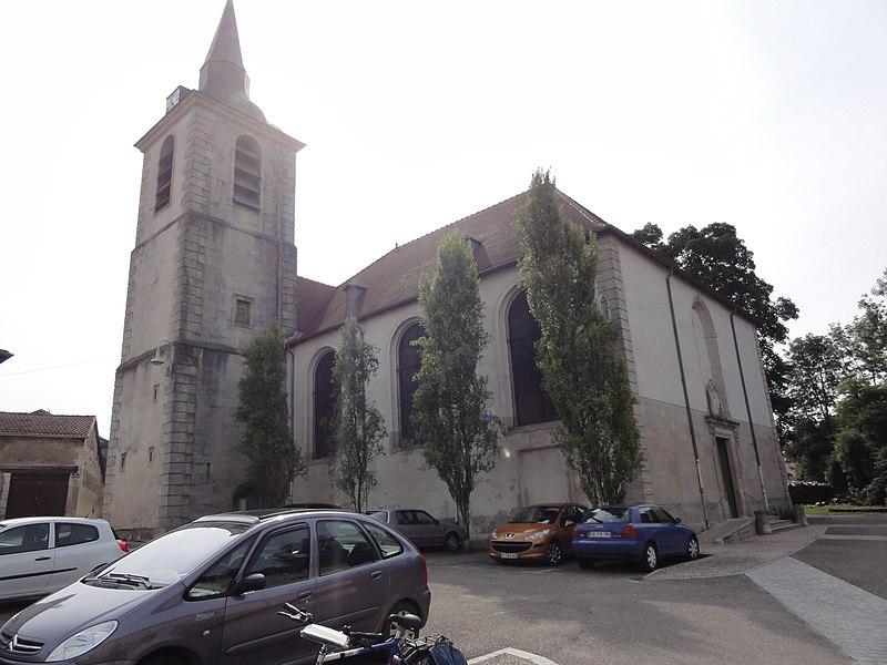 Sorcy-Saint-Martin (Meuse) église Saint-Rémi, extérieur