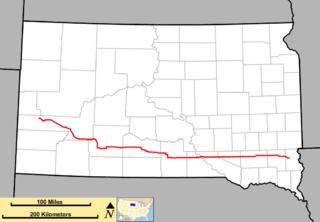 South Dakota Highway 44 highway in South Dakota