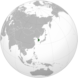 South Korea (orthographic projection).svg