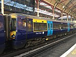 Southeastern 377504 in the new livery at London Victoria.jpg