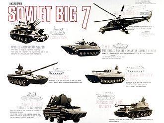 "A ""Soviet Big Seven"" threats poster, displaying the equipment of the militaries of the Warsaw Pact Soviet big 7.jpg"