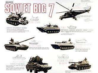 "Warsaw Pact - Warsaw Pact ""Big Seven"" threats"
