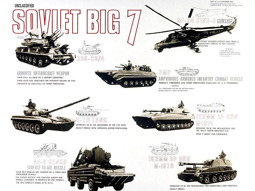 Soviet big 7