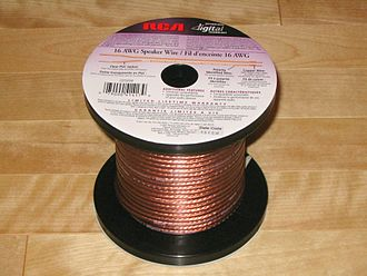 Speaker wire - 2 conductor copper speaker wire