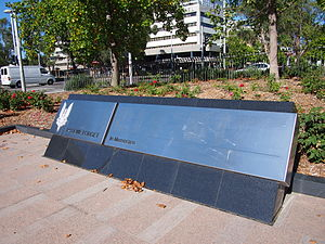 Special Air Service Regiment - The Special Air Service Regiment Memorial in Canberra commemorates the members of the unit killed in combat and training exercises