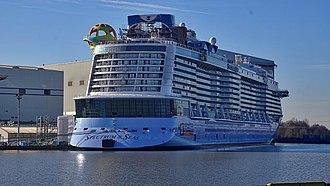 Quantum-class cruise ship - Image: Spectrum Of The Seas (February 26, 2019)