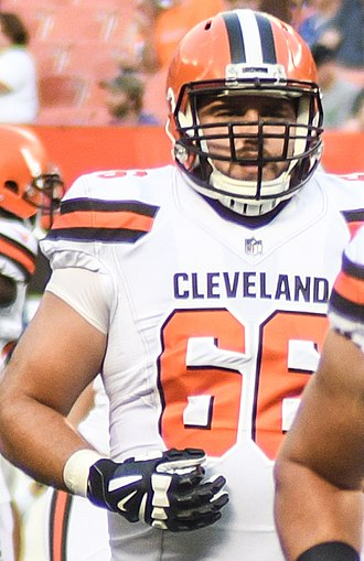 Spencer Drango - Drango with the Cleveland Browns in 2017