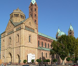Salian dynasty - Speyer Cathedral, burial place of all Salian Emperors