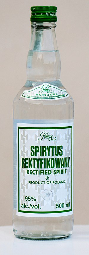 Rectified spirit - Rectified spirit made in Poland by Polmos