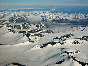Svalbard in fiction - Spitsbergen, the largest island in the archipelago, during August