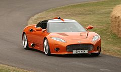 Spyker aileron goodwood festival of speed 2010