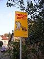 Srbsko, značka Pozor děti.jpg