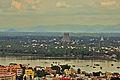 Srirangam Temple view from Rock fort Temple.jpg