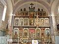 Srpska pravoslavna crkva Sv.Georgija u Tarašu - ikonostas.jpg