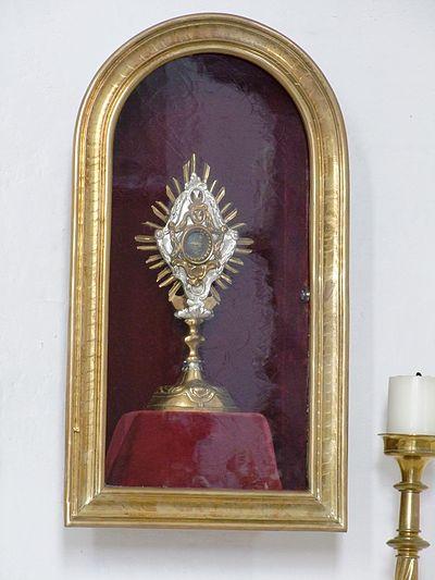 St. Afra in Lachen in Schwaben - Monstranz II.JPG