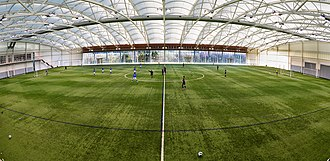 St George's Park National Football Centre - Image: St. George's indoor pitch 2015 01 24