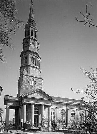 History of Charleston - St. Philip's Episcopal Church