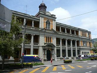 St Vincent's Hospital, Sydney - St Vincent's Hospital, de Lacy building, Victoria Street