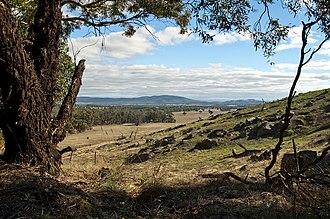 Kara Kara National Park - The view looking south from the St Arnaud Range, within the Kara Kara National Park
