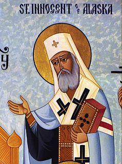 Innocent of Alaska Russian bishop and saint