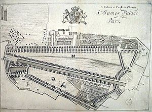 St James's Park - Image: St James's Park (original layout)