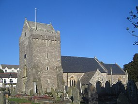St Johns Church Porthcawl The home of Dick Turpins Grave - panoramio.jpg