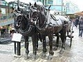 Stables Market horses sculpture - geograph.org.uk - 1712752.jpg