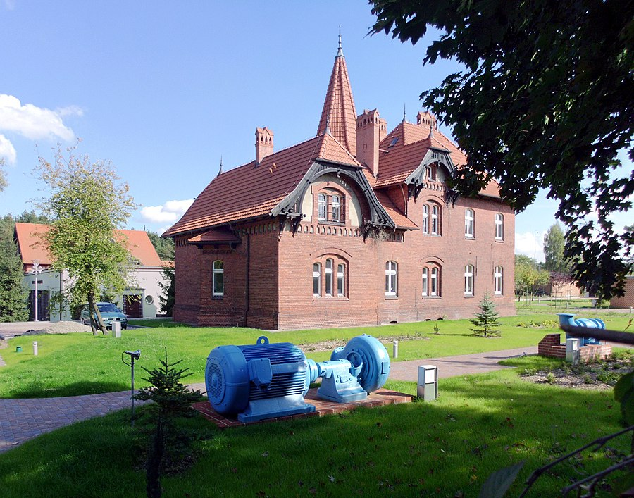 Las Gdański water supply station, Bydgoszcz