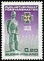 Stamp 1968- Finnish army and Jäger Movement.jpg