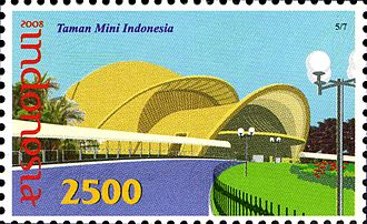 Keong Emas - Keong Emas (Golden Snail) Theater on a 2008 Indonesia stamp.