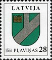 Stamps of Latvia, 2008-02.jpg