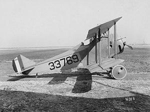 Standard E-1 - 1918 photo of Standard E-1 serial number 33769