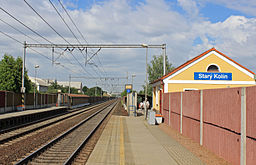 Starý Kolín, train station.jpg