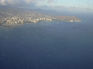 English: Location: Oahu, Diamond Head
