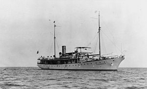 Commercial Pacific Cable Company - Commercial Pacific's CS ''Dickenson'', built in 1923