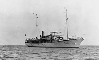 Commercial Pacific Cable Company - Commercial Pacific's CS Dickenson, built in 1923