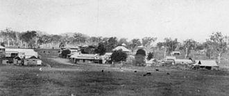 Calliope, Queensland - Township, 1928