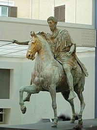 Statua Marco Aurelio Musei Capitolini.JPG