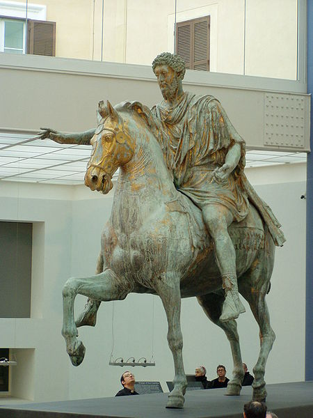 Ryttarstatyn över Marcus Aurelius