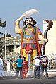 Statue du démon Mahishâsura (Mysore, Inde) (14454518575).jpg