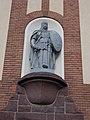 Statue of Árpád by Lajos Krasznai, 1930, Veszprém, 2016 Hungary.jpg