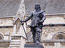 Statue of Oliver Cromwell outside the Palace of Westminster.jpg