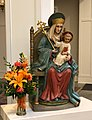 Statue of Our Lady of Walsingham in Saint Bede Catholic Church, February 2020.jpg