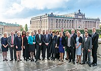 Stefan Löfvens regering 2014.jpg