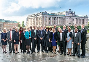 Löfven Cabinet - Image: Stefan Löfvens regering 2014