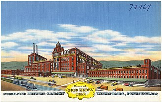 Lion Brewery, Inc. - Stegmaier Brewing Company in Wilkes-Barre, Pennsylvania, circa 1930-1945