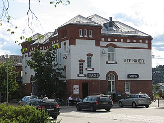 Steinkjer Station - View of the station
