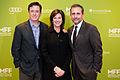 Stephen, Evelyn Colbert and Steve Carell November 2014.jpg