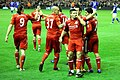 Stevie Gerrard celebrates scoring a goal.jpg