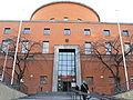 Stockholms stadsbiblioteks entré mot Sveavägen.JPG